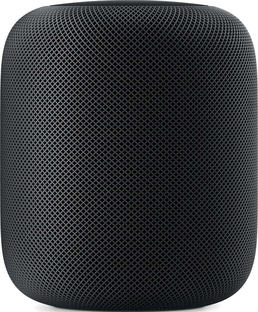 Actual size image of  Apple HomePod .