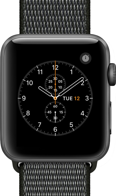 L'image en taille réelle de  Apple Watch Series 3 (42mm) .