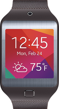 Actual size image of  Samsung Gear 2 Neo .