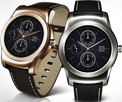 Actual size image of  LG Watch Urbane .