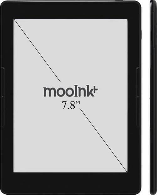 Actual size image of  mooink Plus .