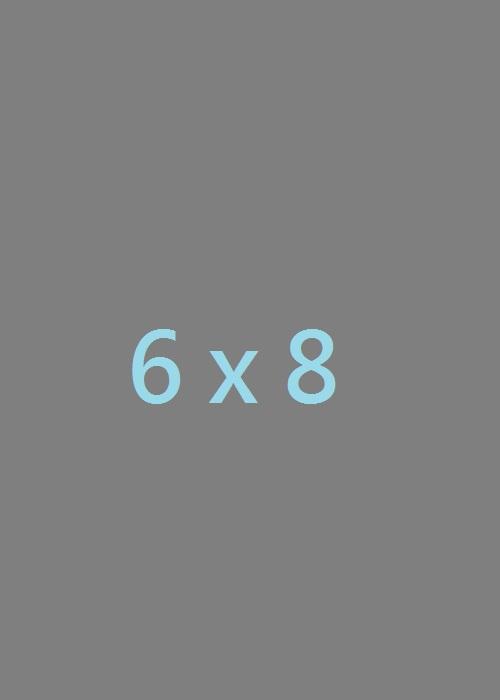 Tamaño real de Foto (6x8)